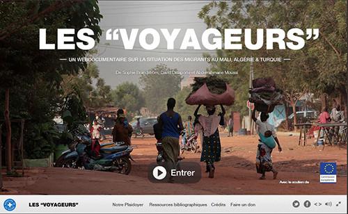 Les Voyageurs webdoc