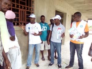 Séance de sensibilisation sur la prévention des infections sexuellement transmissibles
